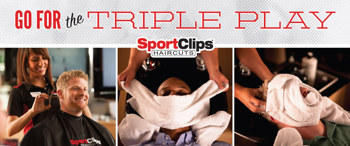The Sport Clips Haircuts of Marketplace @ I-10  Triple Play